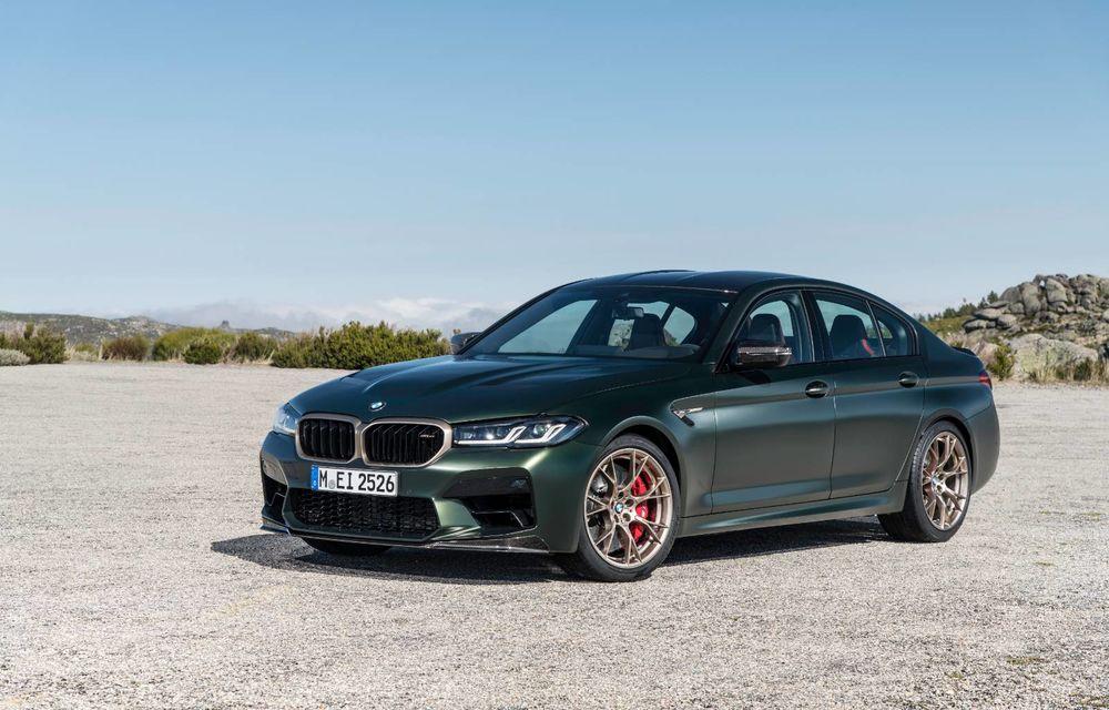 OFICIAL: BMW lansează noul M5 CS alături de cel mai puternic motor al său din toate timpurile - Poza 92
