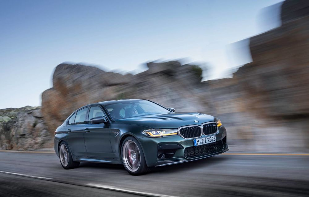 OFICIAL: BMW lansează noul M5 CS alături de cel mai puternic motor al său din toate timpurile - Poza 121