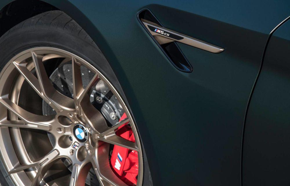 OFICIAL: BMW lansează noul M5 CS alături de cel mai puternic motor al său din toate timpurile - Poza 63