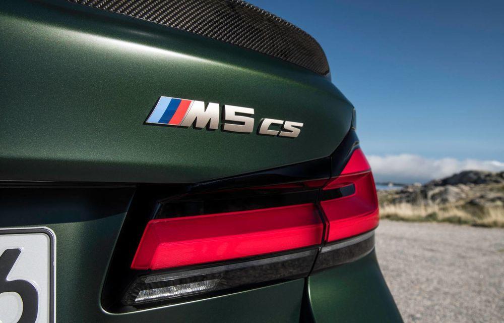 OFICIAL: BMW lansează noul M5 CS alături de cel mai puternic motor al său din toate timpurile - Poza 54