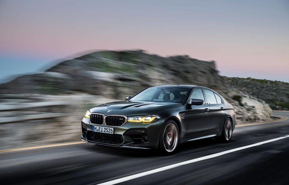 OFICIAL: BMW lansează noul M5 CS alături de cel mai puternic motor al său din toate timpurile - Poza 127