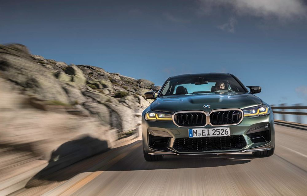 OFICIAL: BMW lansează noul M5 CS alături de cel mai puternic motor al său din toate timpurile - Poza 153