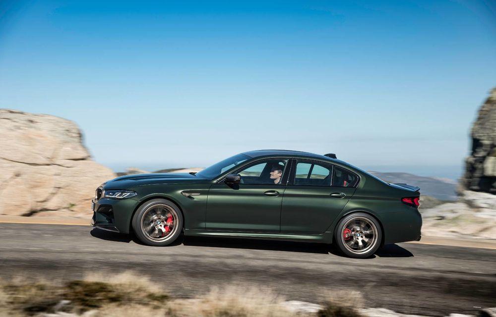 OFICIAL: BMW lansează noul M5 CS alături de cel mai puternic motor al său din toate timpurile - Poza 105