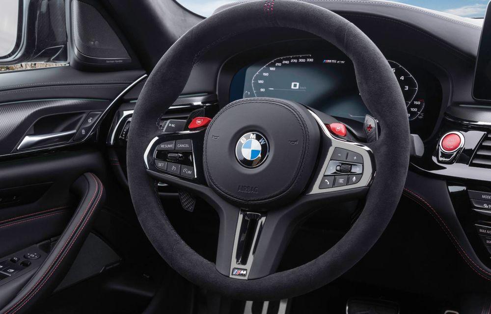 OFICIAL: BMW lansează noul M5 CS alături de cel mai puternic motor al său din toate timpurile - Poza 41