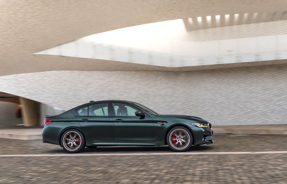 OFICIAL: BMW lansează noul M5 CS alături de cel mai puternic motor al său din toate timpurile - Poza 100
