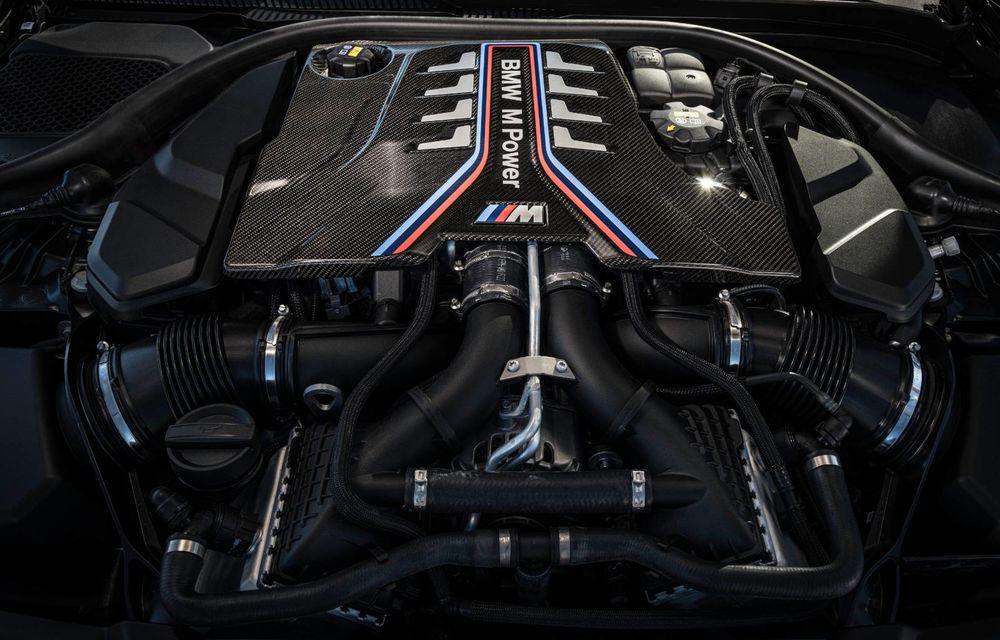 OFICIAL: BMW lansează noul M5 CS alături de cel mai puternic motor al său din toate timpurile - Poza 33