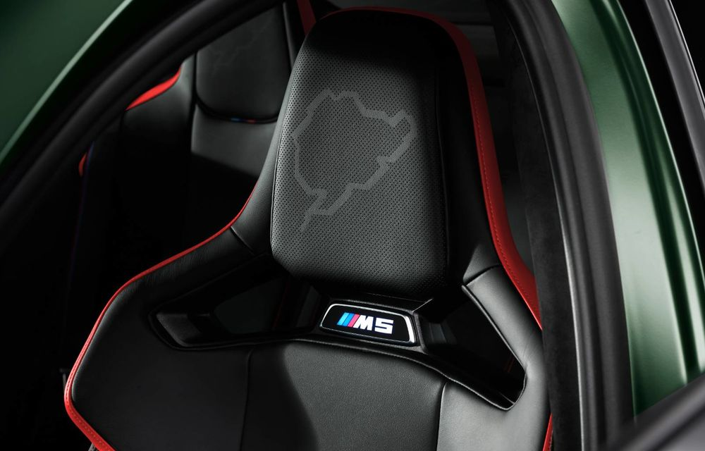 OFICIAL: BMW lansează noul M5 CS alături de cel mai puternic motor al său din toate timpurile - Poza 8