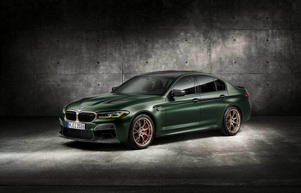 OFICIAL: BMW lansează noul M5 CS alături de cel mai puternic motor al său din toate timpurile - Poza 32