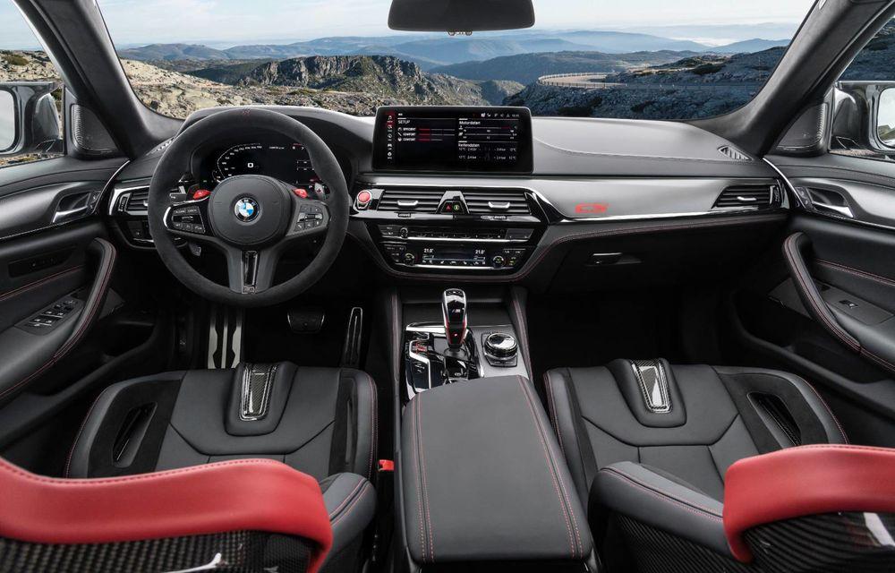 OFICIAL: BMW lansează noul M5 CS alături de cel mai puternic motor al său din toate timpurile - Poza 52