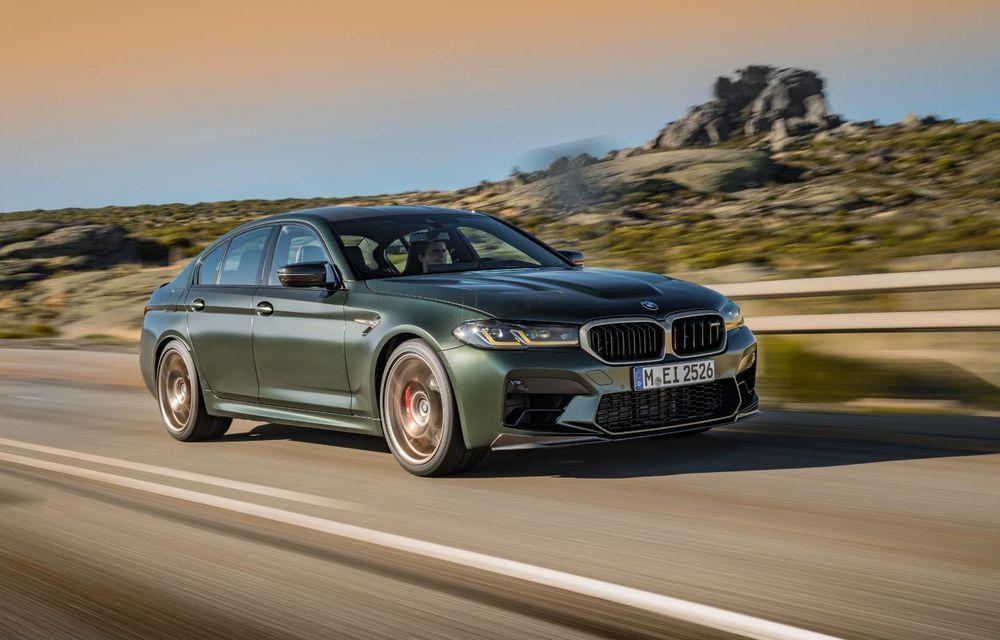 OFICIAL: BMW lansează noul M5 CS alături de cel mai puternic motor al său din toate timpurile - Poza 137