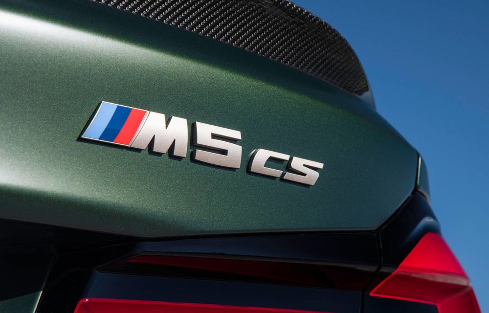OFICIAL: BMW lansează noul M5 CS alături de cel mai puternic motor al său din toate timpurile - Poza 53