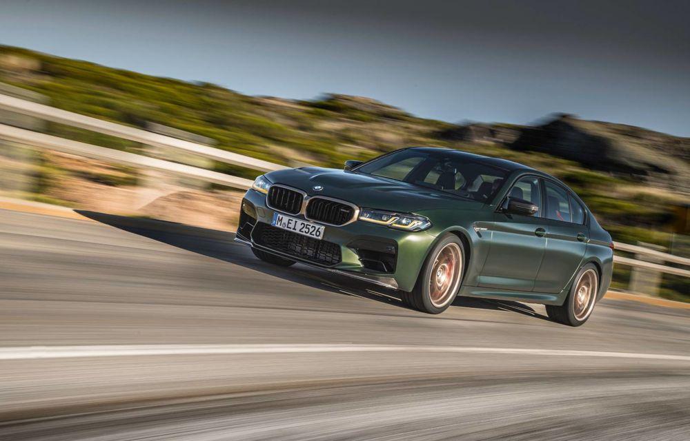 OFICIAL: BMW lansează noul M5 CS alături de cel mai puternic motor al său din toate timpurile - Poza 138