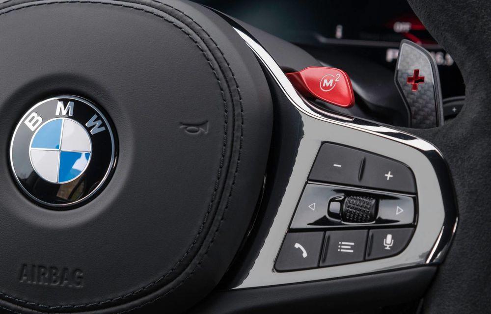 OFICIAL: BMW lansează noul M5 CS alături de cel mai puternic motor al său din toate timpurile - Poza 39