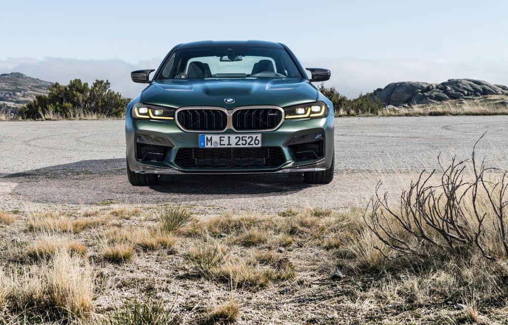 OFICIAL: BMW lansează noul M5 CS alături de cel mai puternic motor al său din toate timpurile - Poza 99
