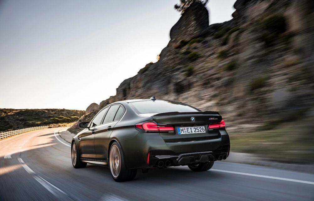 OFICIAL: BMW lansează noul M5 CS alături de cel mai puternic motor al său din toate timpurile - Poza 114