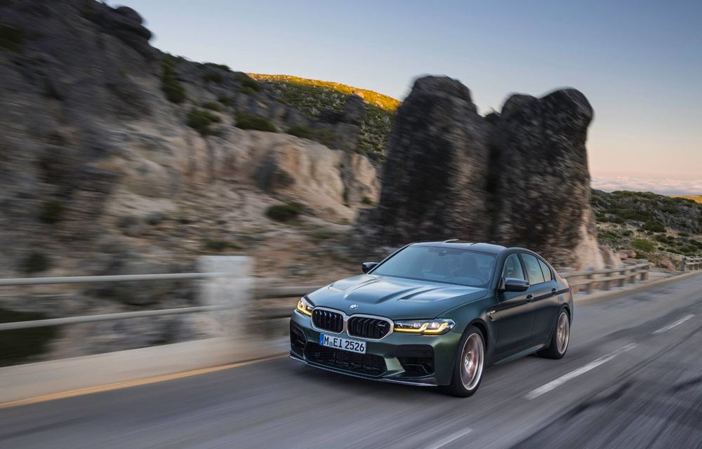 OFICIAL: BMW lansează noul M5 CS alături de cel mai puternic motor al său din toate timpurile - Poza 120