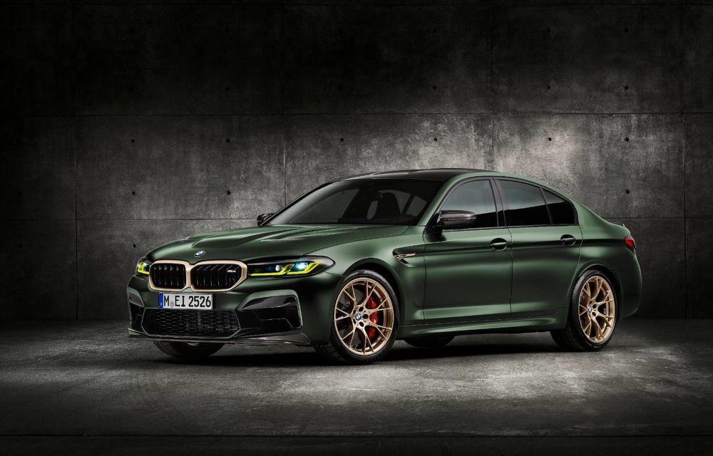 OFICIAL: BMW lansează noul M5 CS alături de cel mai puternic motor al său din toate timpurile - Poza 1