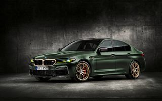 OFICIAL: BMW lansează noul M5 CS alături de cel mai puternic motor al său din toate timpurile