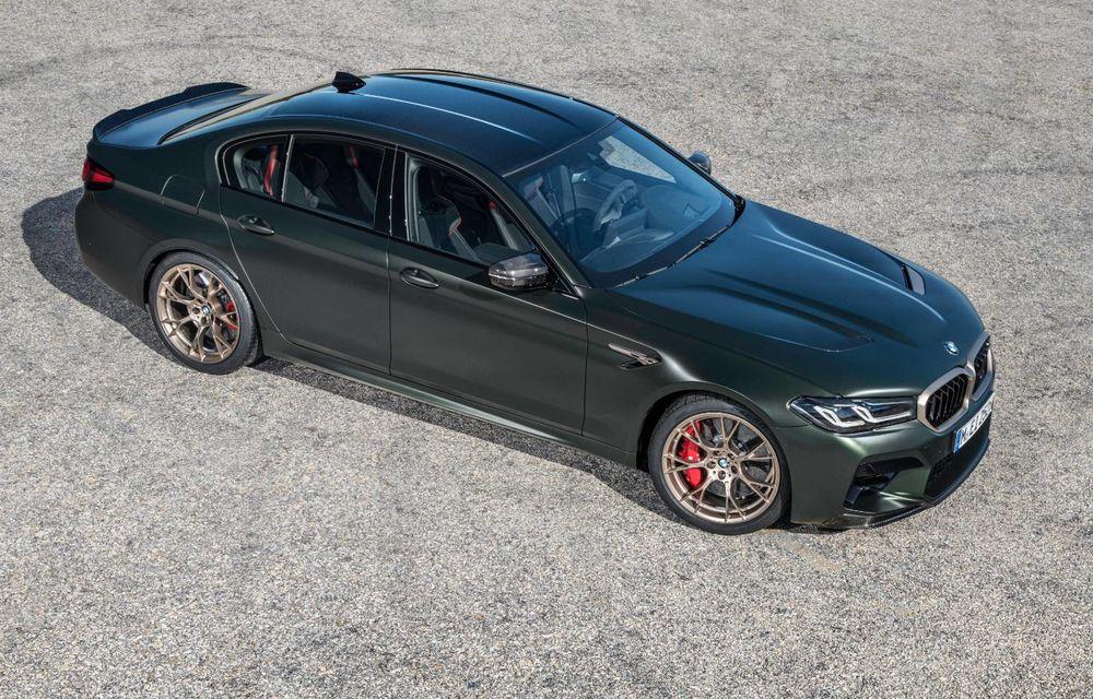 OFICIAL: BMW lansează noul M5 CS alături de cel mai puternic motor al său din toate timpurile - Poza 91