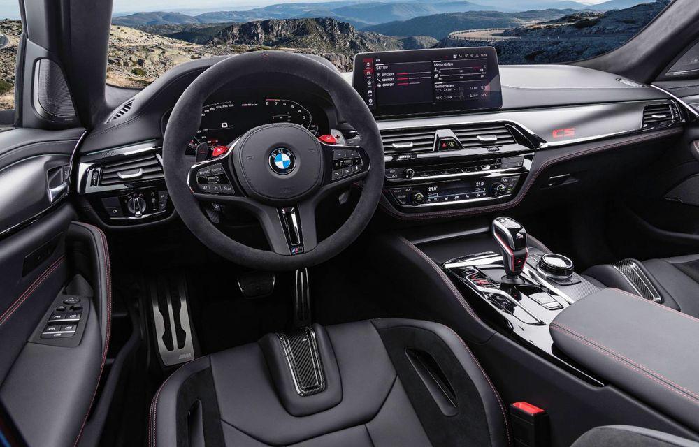 OFICIAL: BMW lansează noul M5 CS alături de cel mai puternic motor al său din toate timpurile - Poza 49