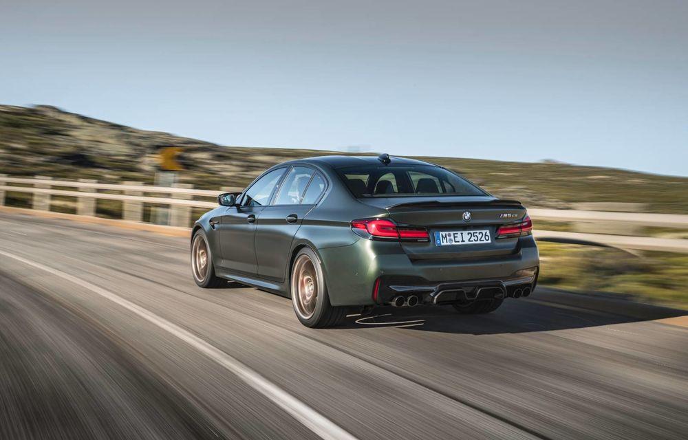 OFICIAL: BMW lansează noul M5 CS alături de cel mai puternic motor al său din toate timpurile - Poza 136