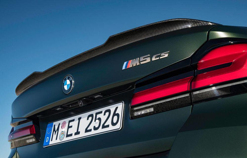 OFICIAL: BMW lansează noul M5 CS alături de cel mai puternic motor al său din toate timpurile - Poza 57