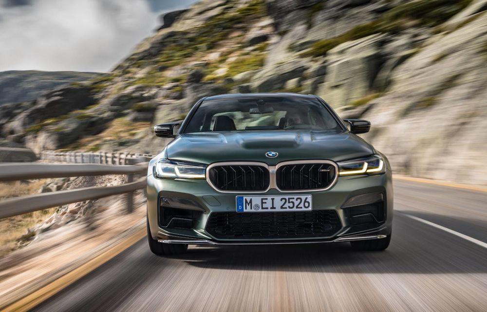 OFICIAL: BMW lansează noul M5 CS alături de cel mai puternic motor al său din toate timpurile - Poza 151