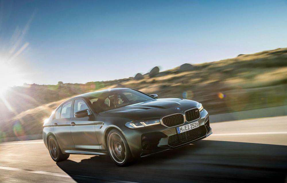 OFICIAL: BMW lansează noul M5 CS alături de cel mai puternic motor al său din toate timpurile - Poza 116
