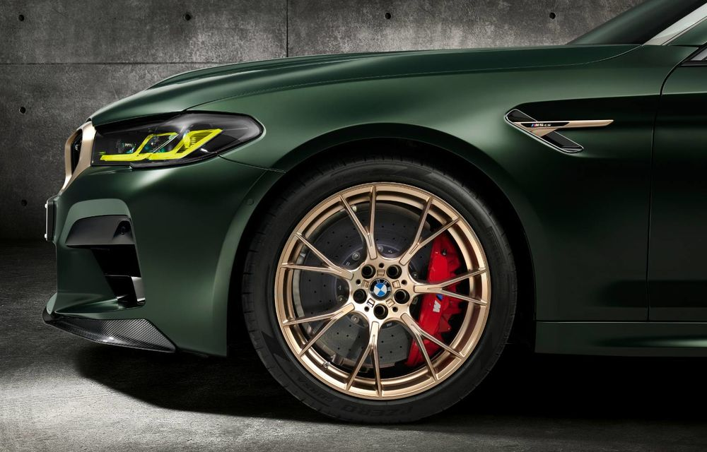OFICIAL: BMW lansează noul M5 CS alături de cel mai puternic motor al său din toate timpurile - Poza 3