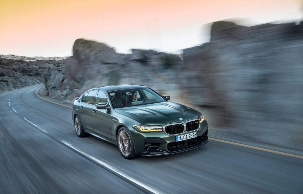 OFICIAL: BMW lansează noul M5 CS alături de cel mai puternic motor al său din toate timpurile - Poza 122