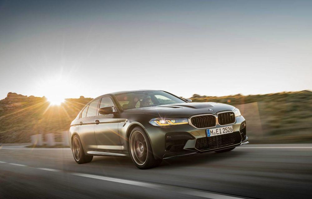OFICIAL: BMW lansează noul M5 CS alături de cel mai puternic motor al său din toate timpurile - Poza 113