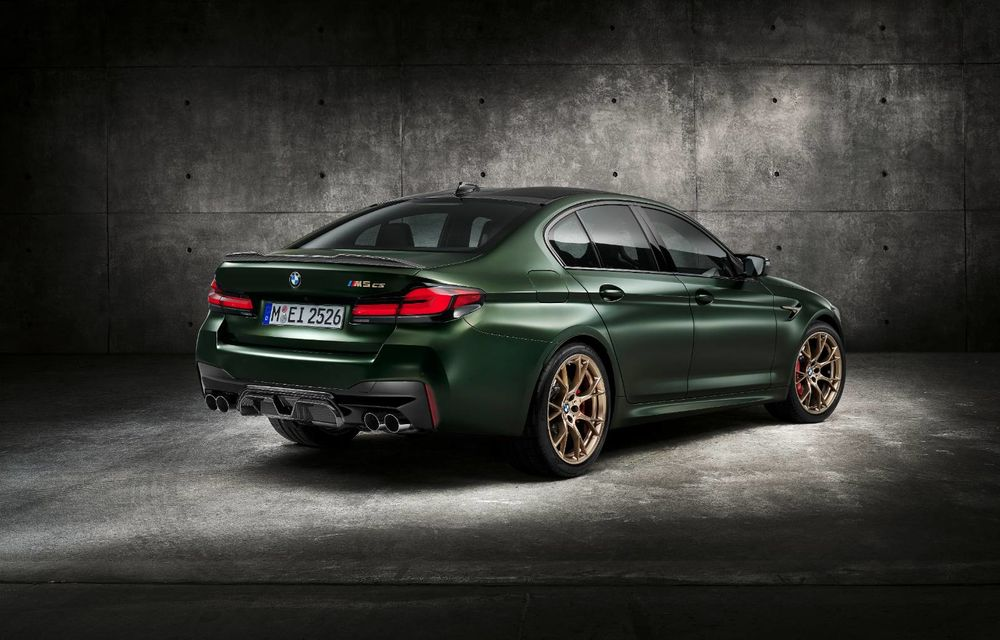 OFICIAL: BMW lansează noul M5 CS alături de cel mai puternic motor al său din toate timpurile - Poza 30