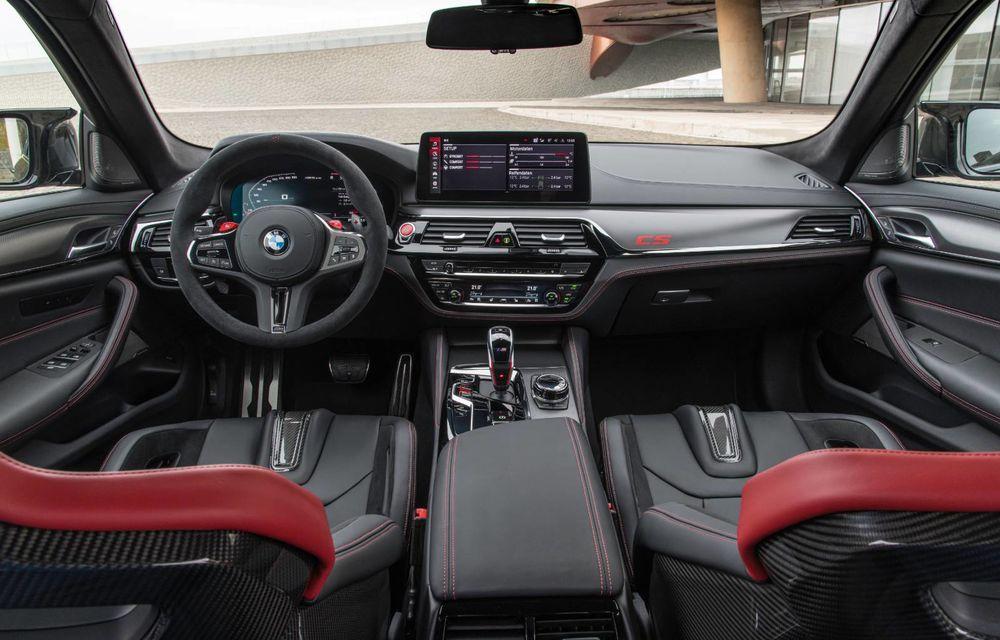 OFICIAL: BMW lansează noul M5 CS alături de cel mai puternic motor al său din toate timpurile - Poza 46