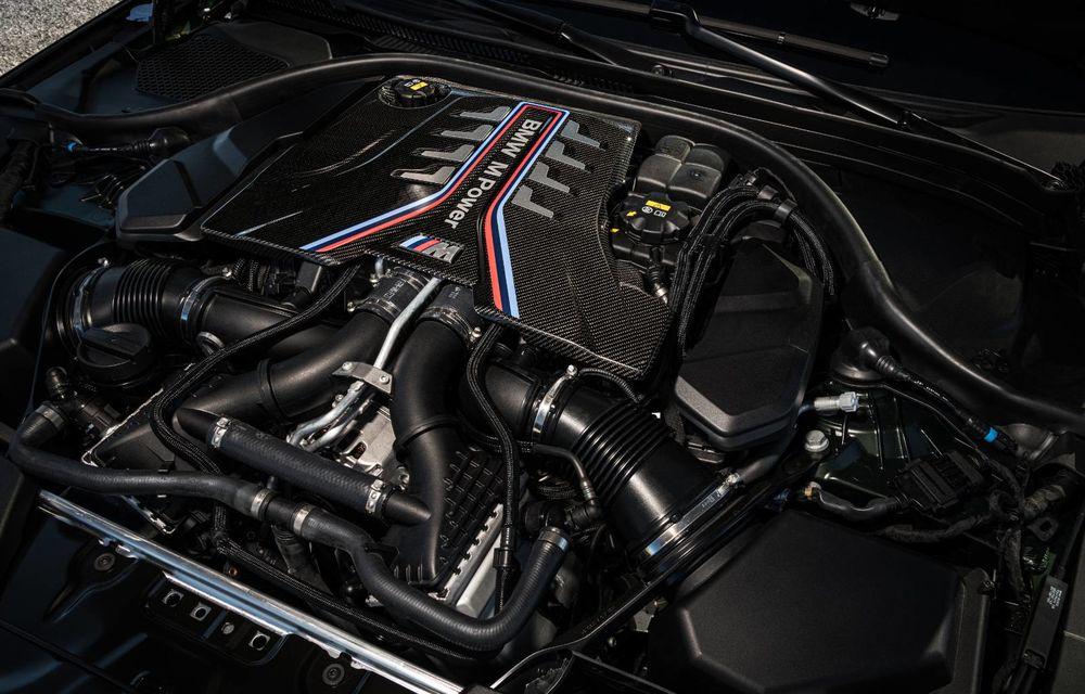 OFICIAL: BMW lansează noul M5 CS alături de cel mai puternic motor al său din toate timpurile - Poza 34