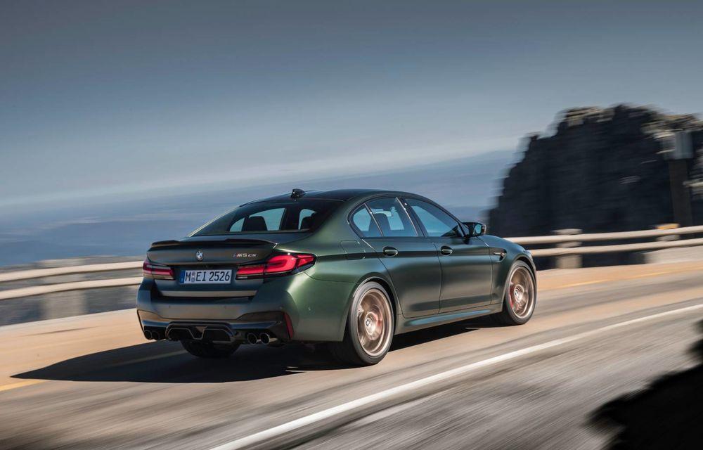 OFICIAL: BMW lansează noul M5 CS alături de cel mai puternic motor al său din toate timpurile - Poza 145