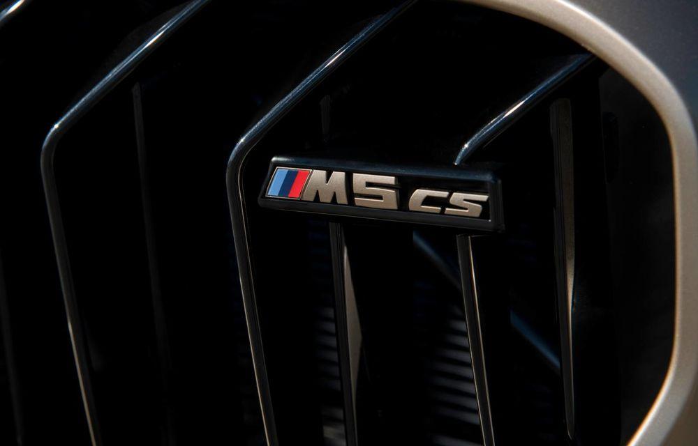 OFICIAL: BMW lansează noul M5 CS alături de cel mai puternic motor al său din toate timpurile - Poza 66