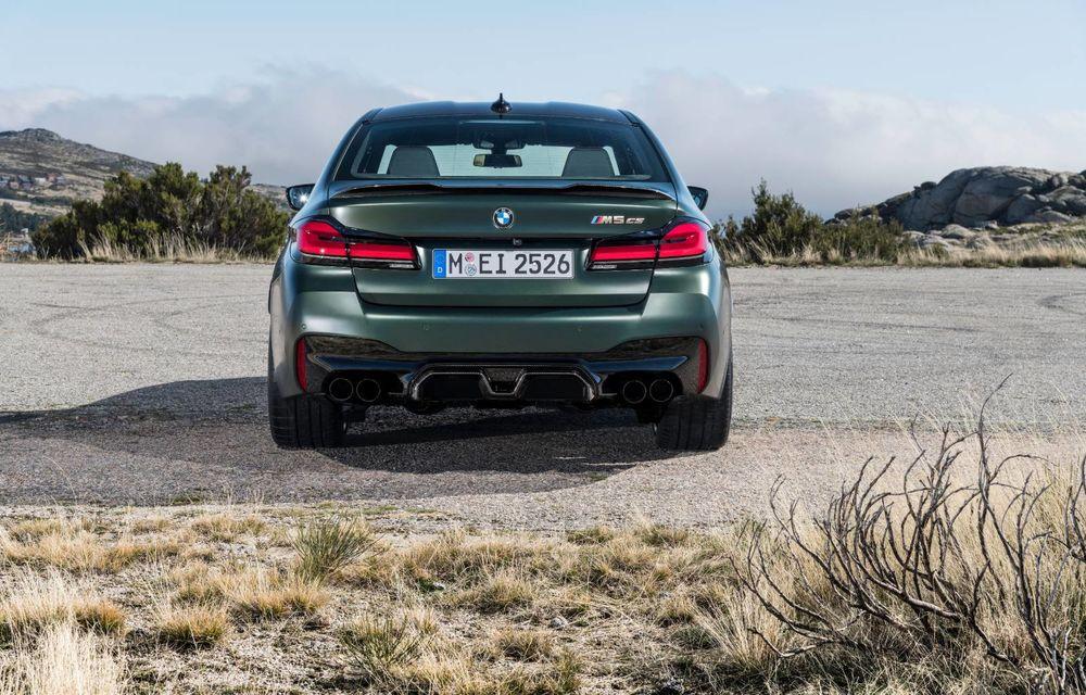 OFICIAL: BMW lansează noul M5 CS alături de cel mai puternic motor al său din toate timpurile - Poza 61