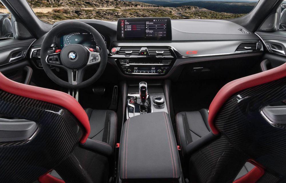 OFICIAL: BMW lansează noul M5 CS alături de cel mai puternic motor al său din toate timpurile - Poza 51
