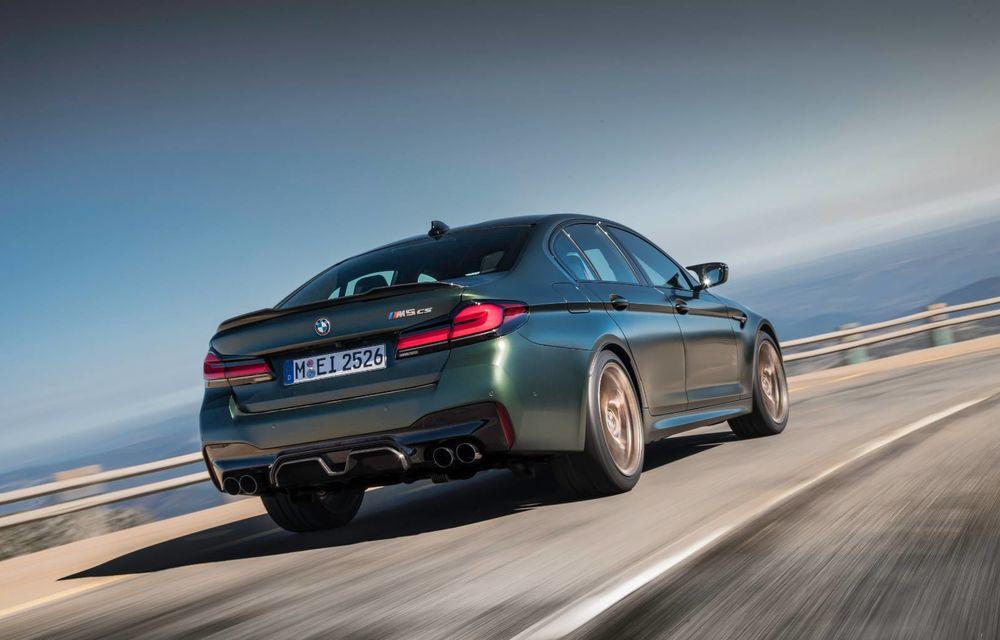 OFICIAL: BMW lansează noul M5 CS alături de cel mai puternic motor al său din toate timpurile - Poza 144