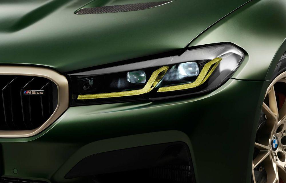 OFICIAL: BMW lansează noul M5 CS alături de cel mai puternic motor al său din toate timpurile - Poza 25