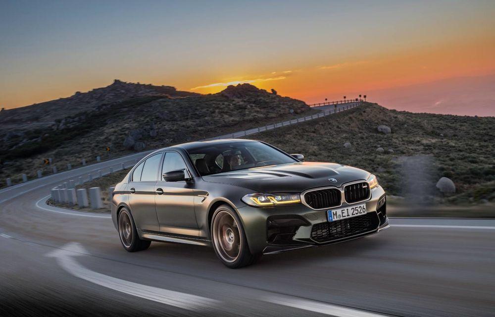 OFICIAL: BMW lansează noul M5 CS alături de cel mai puternic motor al său din toate timpurile - Poza 133