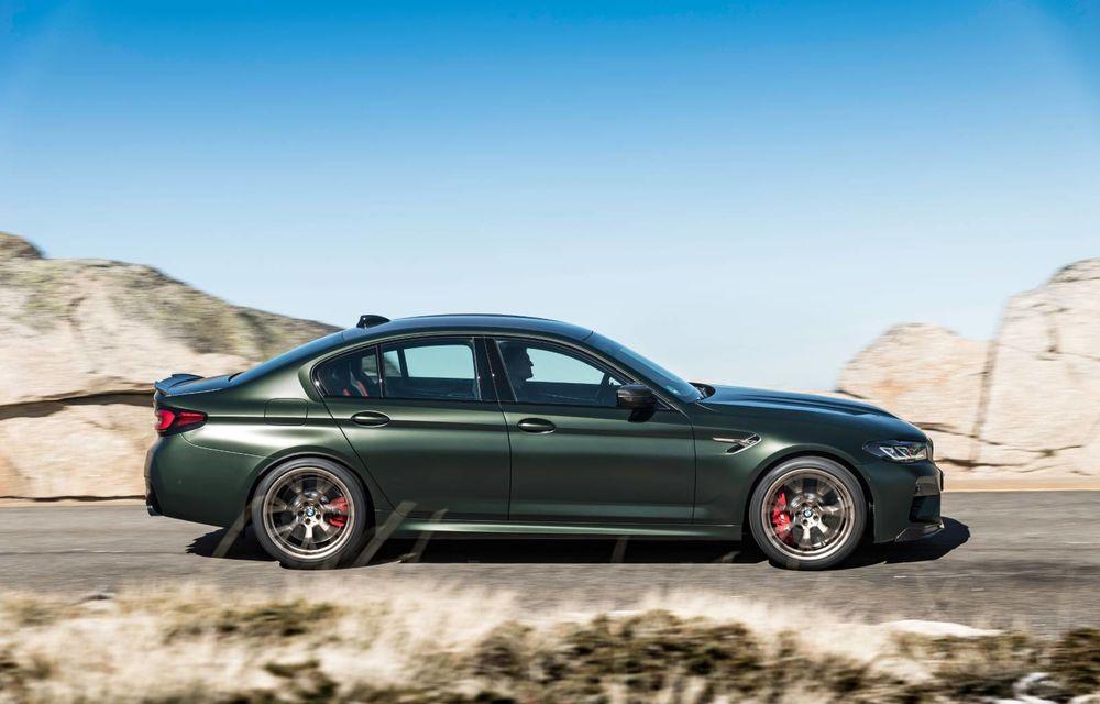 OFICIAL: BMW lansează noul M5 CS alături de cel mai puternic motor al său din toate timpurile - Poza 104