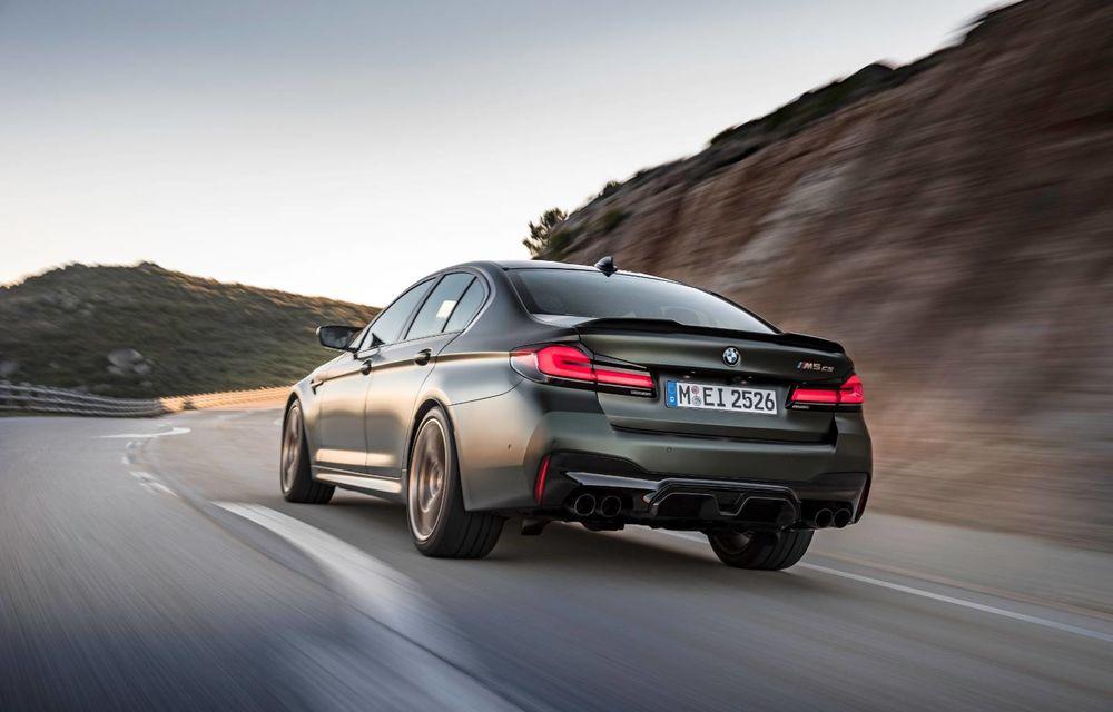 OFICIAL: BMW lansează noul M5 CS alături de cel mai puternic motor al său din toate timpurile - Poza 107