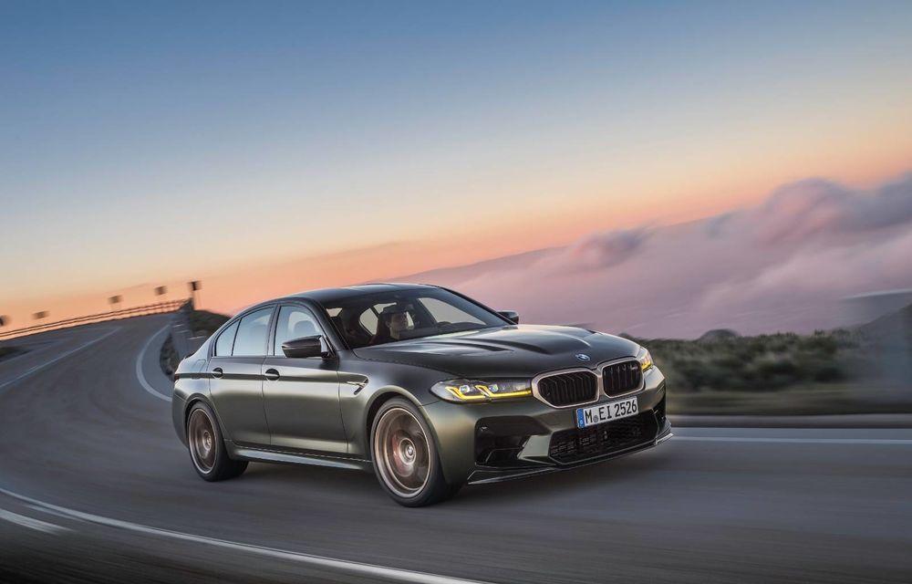 OFICIAL: BMW lansează noul M5 CS alături de cel mai puternic motor al său din toate timpurile - Poza 135