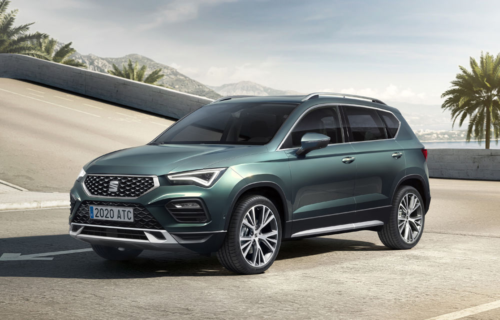 Prețuri pentru Seat Ateca facelift în România: SUV-ul pornește de la 19.100 de euro - Poza 1