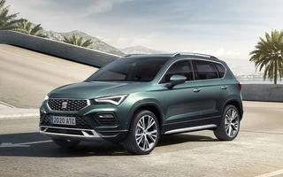Prețuri pentru Seat Ateca facelift în România: SUV-ul pornește de la 19.100 de euro