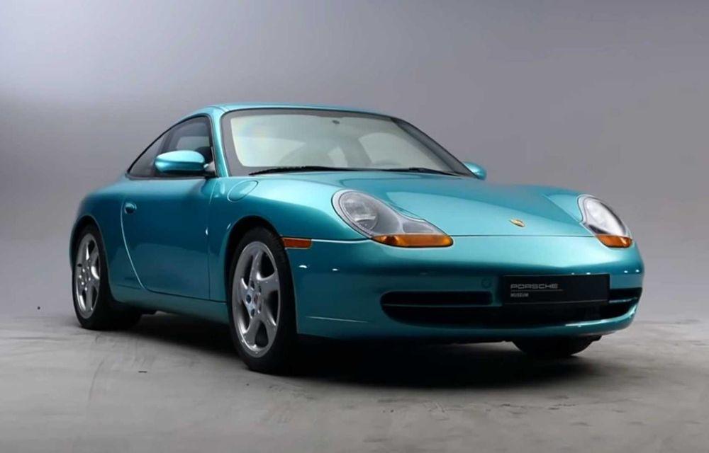 O mașină specială: singurul Porsche 911 care venea cu blindaj din fabrică - Poza 1