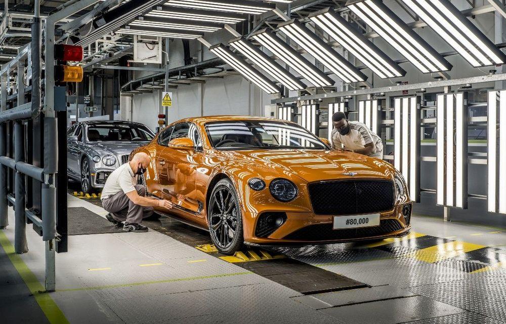 Sărbătoare la Bentley: producția lui Continental GT a atins borna 80.000 - Poza 1