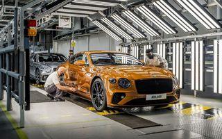 Sărbătoare la Bentley: producția lui Continental GT a atins borna 80.000