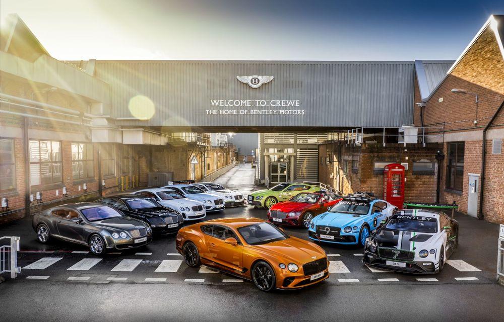 Sărbătoare la Bentley: producția lui Continental GT a atins borna 80.000 - Poza 3